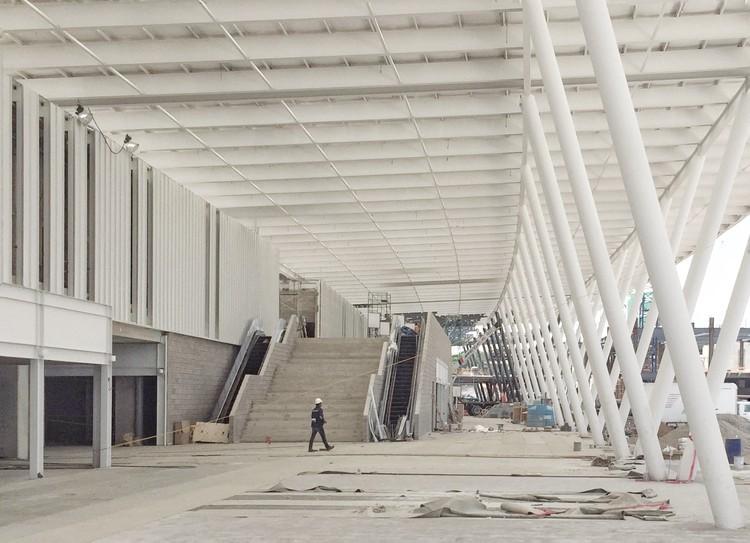 Mira el avance de la construcción del CETRAM Cuatro Caminos en Ciudad de México, Cortesía de CC Arquitectos