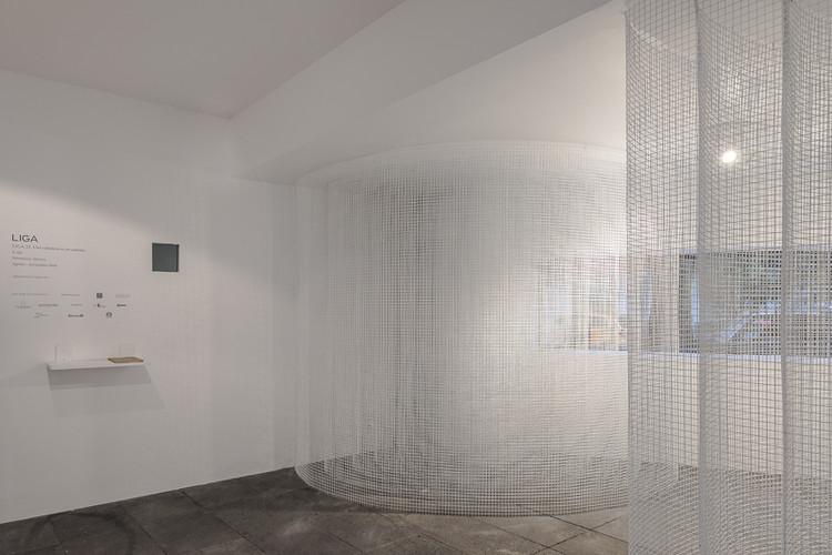 Galería mexicana 'LIGA, Espacio para Arquitectura' gana fondos para exhibición de la Graham Foundation, Liga 23: Una columna es un sistema. S-AR. Image © LGM Studio