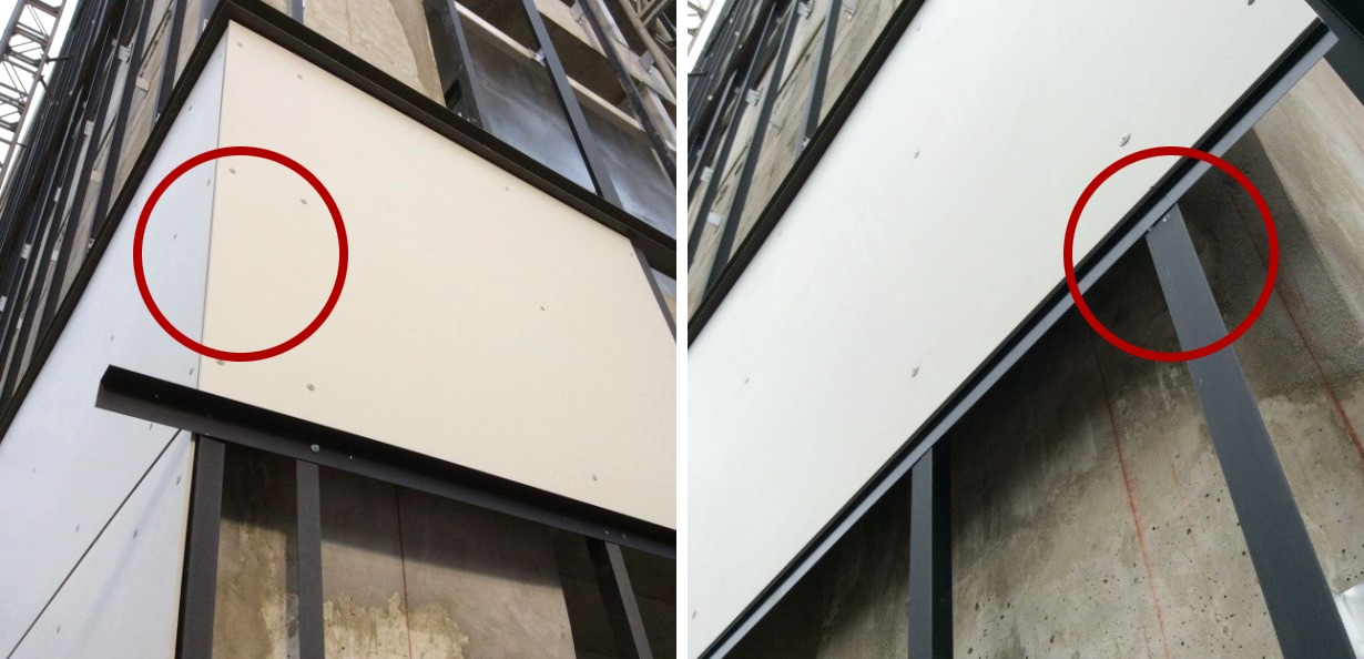 Galer a de gu a eternit correcta instalaci n de paneles de fibrocemento equitone en lima per 8 - Paneles de fibrocemento ...