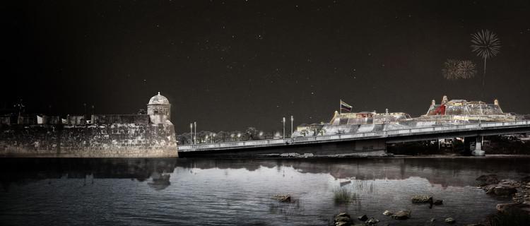 Este es el diseño de Colectivo720 + De Arquitectura y Paisaje que iluminará castillo en Cartagena, Cortesía de Colectivo 720 + De Arquitectura y Paisaje