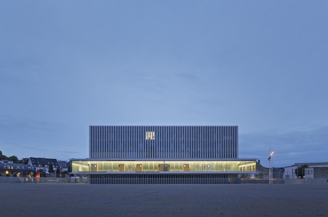 New law courts baumschlager eberle architectes atelier for Atelier 4 architecte