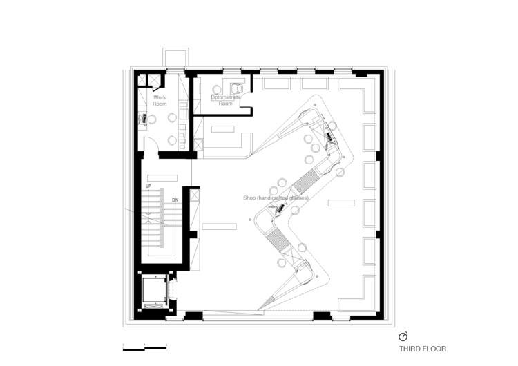 Davich Optical Chain Joho Architecture Archdaily