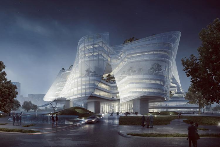 معماری با عنوان مجتمع مُد و طراحی لباس