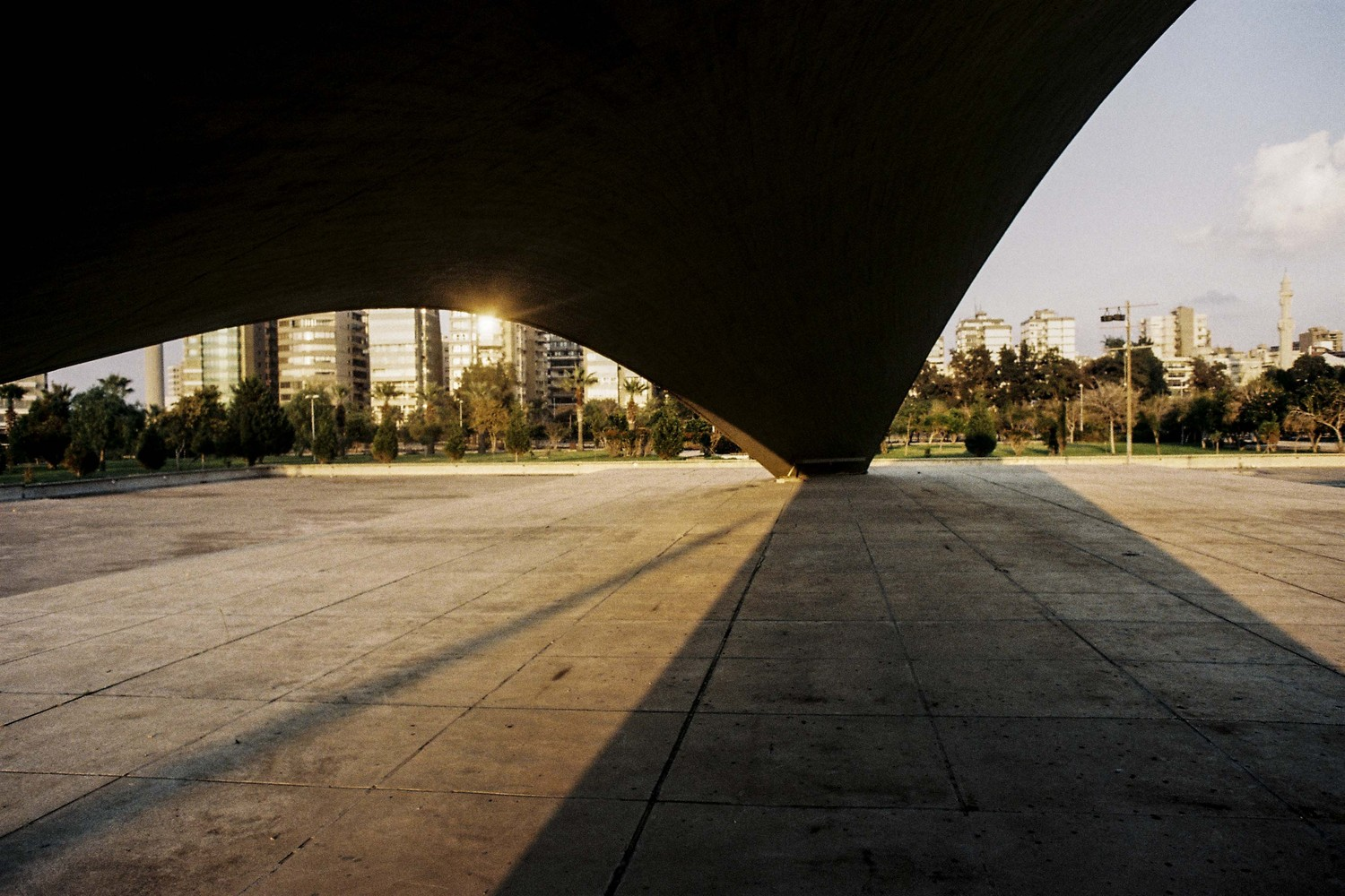 c97386acc4ae01 See Oscar Niemeyer s Unfinished Architecture for Lebanon s International  Fair Grounds. International Fairgrounds of ...