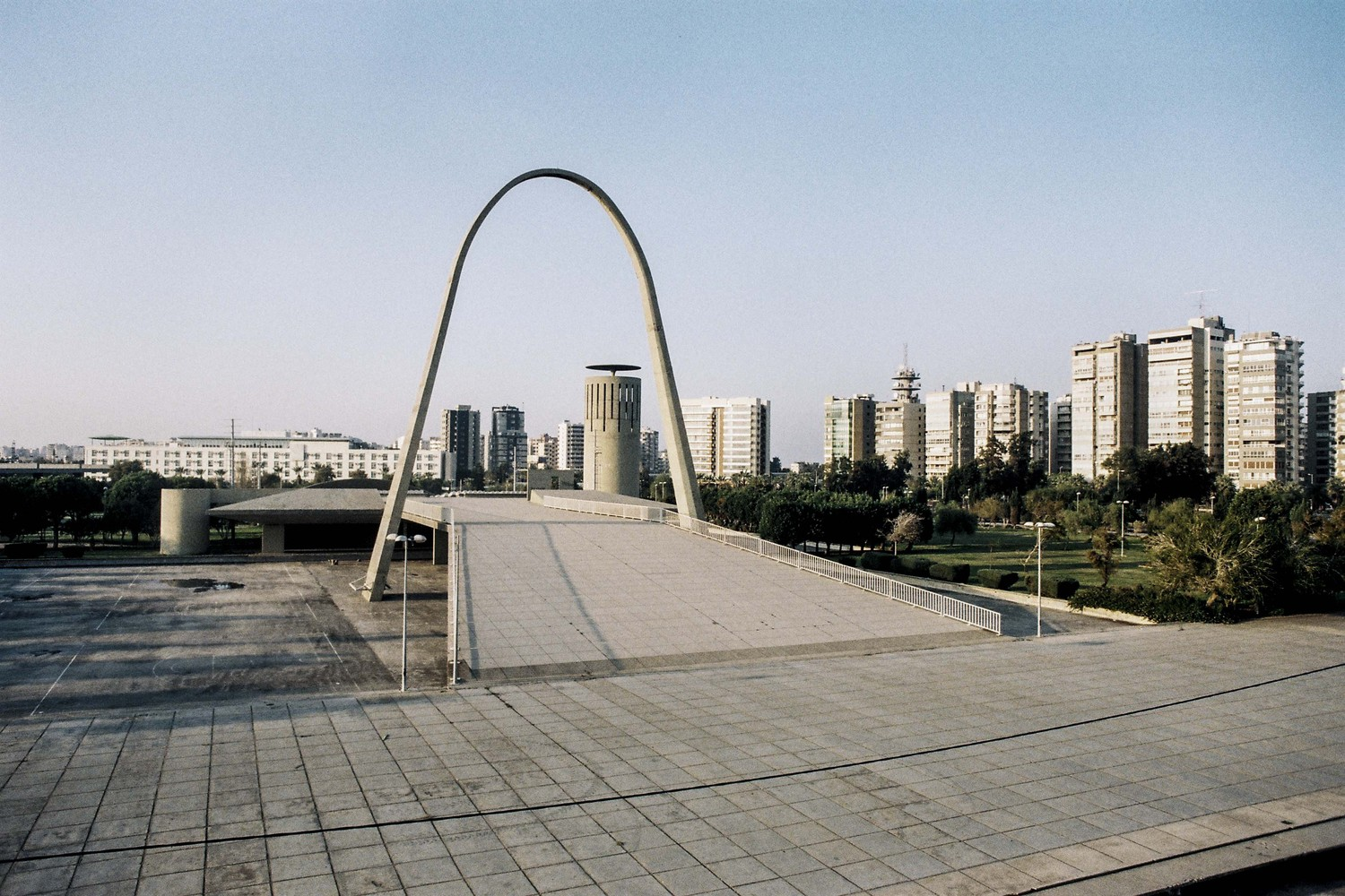 0d6863a5c16fb2 See Oscar Niemeyer s Unfinished Architecture for Lebanon s International  Fair Grounds. Arch. International Fairgrounds of ...