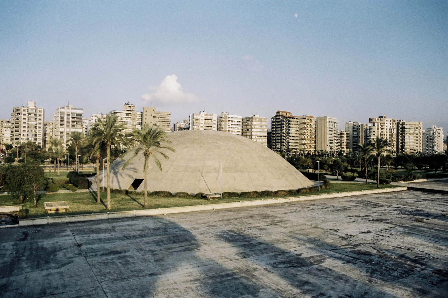 53b33ee95e2fcf See Oscar Niemeyer s Unfinished Architecture for Lebanon s International  Fair Grounds. Enclosed Theater. International Fairgrounds of ...