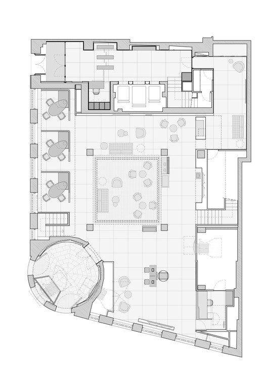 Caixabank francesc rif studio plataforma arquitectura for Oficinas la caixa en zaragoza