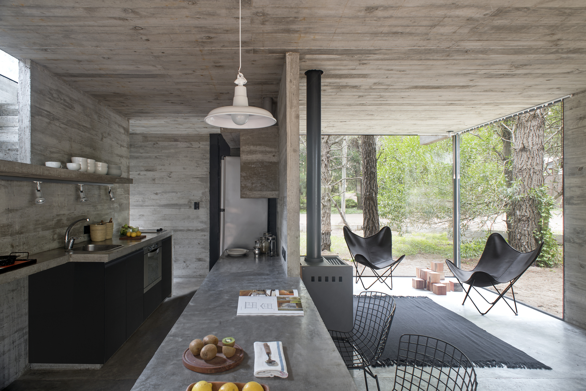 Galeria de casa h3 luciano kruk 2 for Casa moderna tipo loft