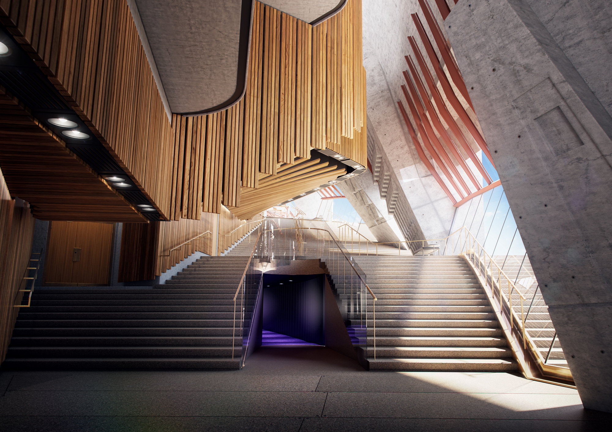 Sydney Opera House Northern Foyer Map : Gallery of sydney opera house to undergo million