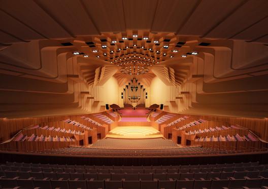 Concert Hall. Image Courtesy of Sydney Opera House