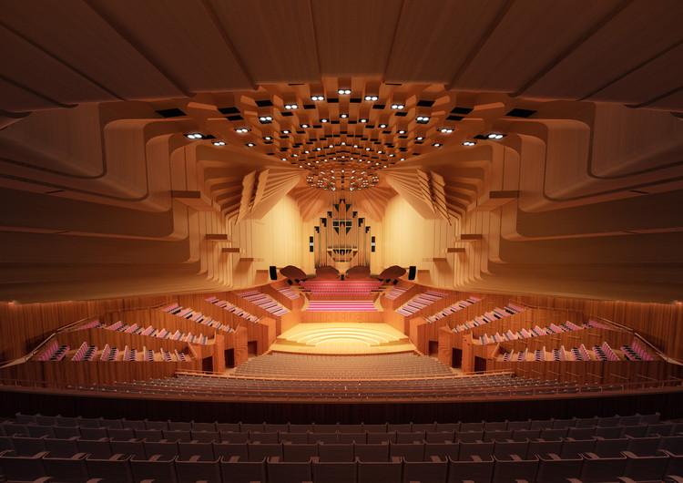 Sydney Opera House to Undergo $202 Million Renovation, Concert Hall. Image Courtesy of Sydney Opera House