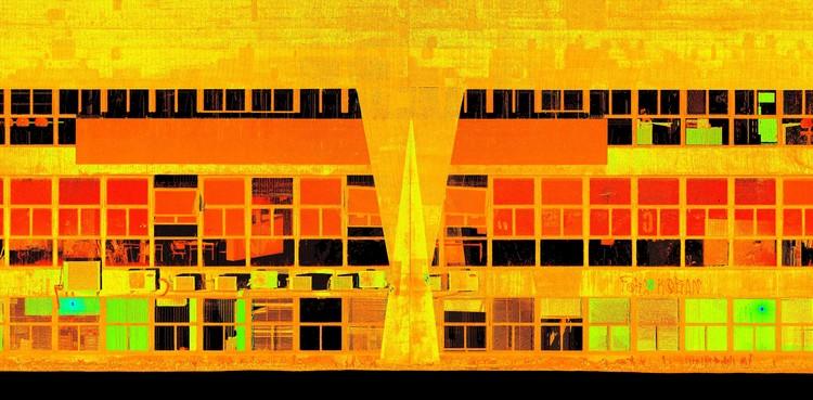 FAU USP tem fachadas escaneadas a laser como parte de plano de manutenção, Cortesia de Conserva FAU