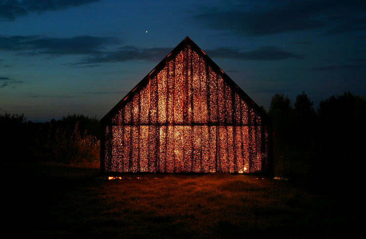 "Project Meganom's Yuri Grigoryan: ""Freedom is When You Realize that Anything is Possible"", Barn, Nikolo-Lenivets, Kaluga District, Russia, 2006. Image © Yuri Grigoryan"