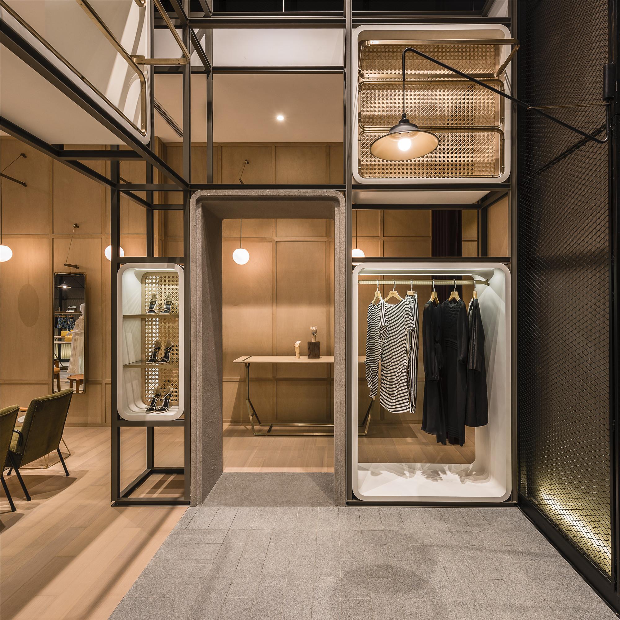 Gallery of the modular lilong lukstudio 4 for Retail interior design