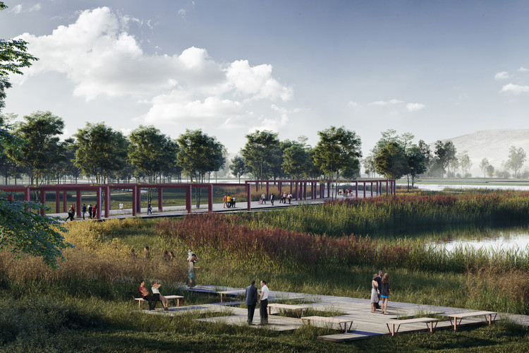 ONZ Architects and MDESIGN Design Ecological Corridor in Turkey , Courtesy of ONZ Architects and MDesign
