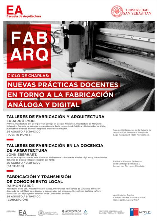 Ciclo de Charlas FAB_ARQ | Facultad de Arquitectura USS / Santiago de Chile
