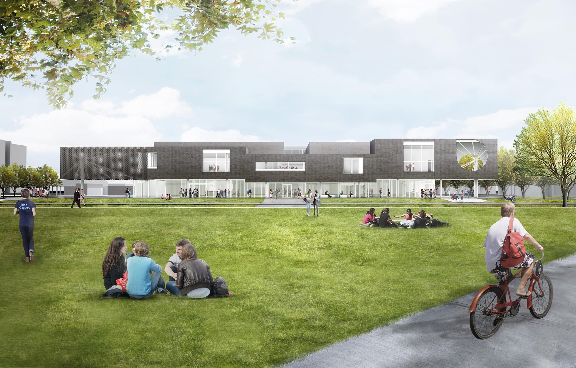 michael maltzan designs  u0026quot experimental u0026quot  arts center at rice