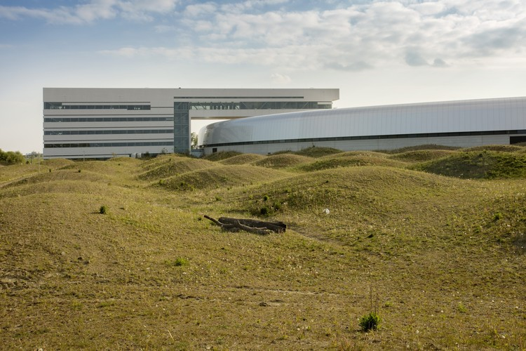 Photos Released of Snøhetta's Recently Completed MAX IV Laboratory Landscape, © Mikal Schlosser