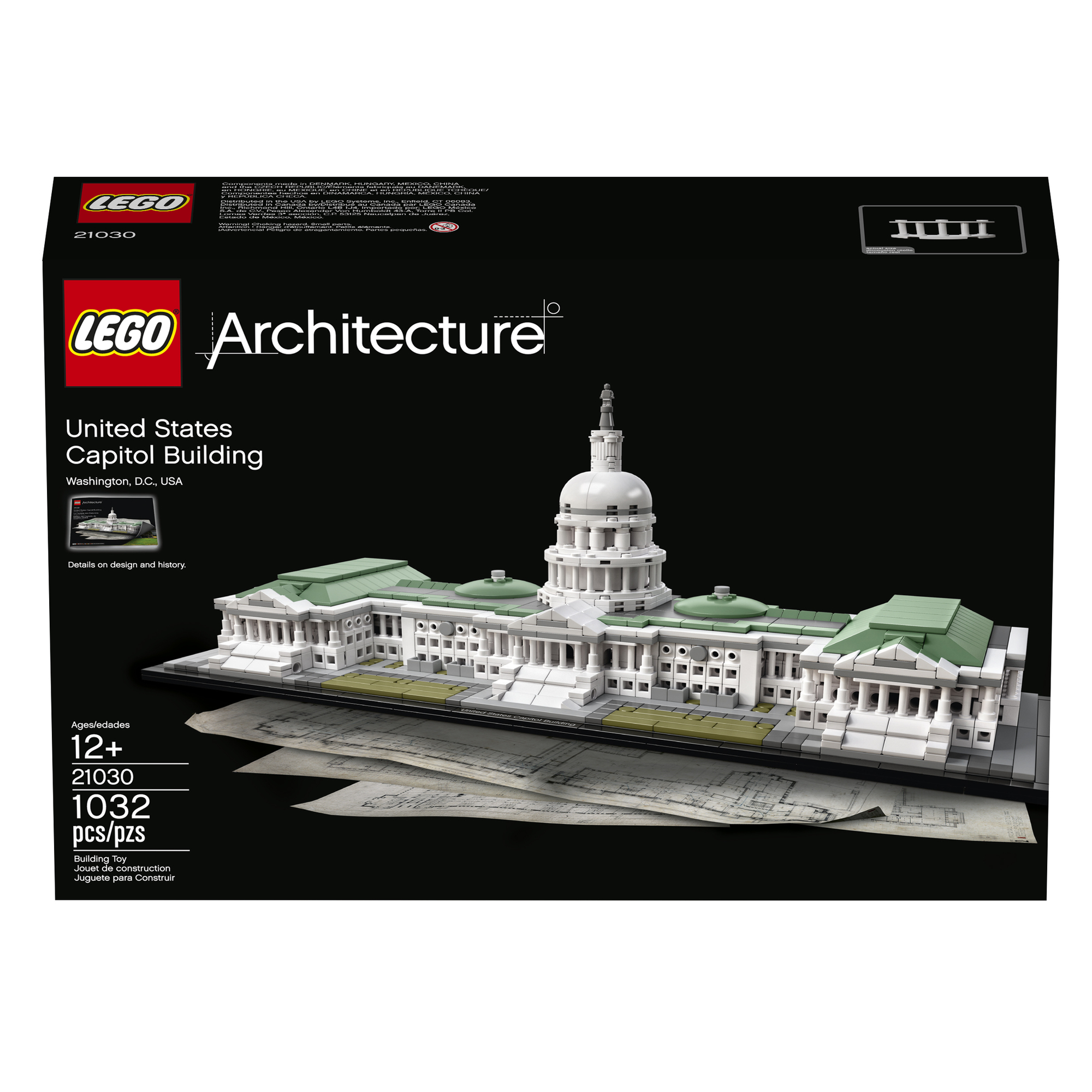 lego architecture capitol building - HD 2000×2000