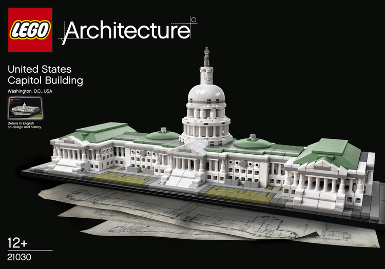 The Latest LEGO® Architecture Set: The U.S. Capitol Building, Courtesy of LEGO®