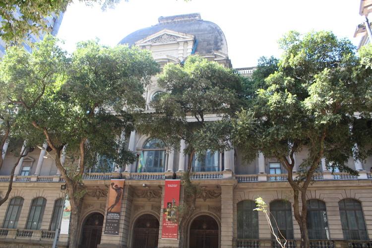 200 anos de ensino de arquitetura no Brasil, Fachada do Museu Nacional de Belas Artes. Image © Marina Mendes, via CAU/RJ