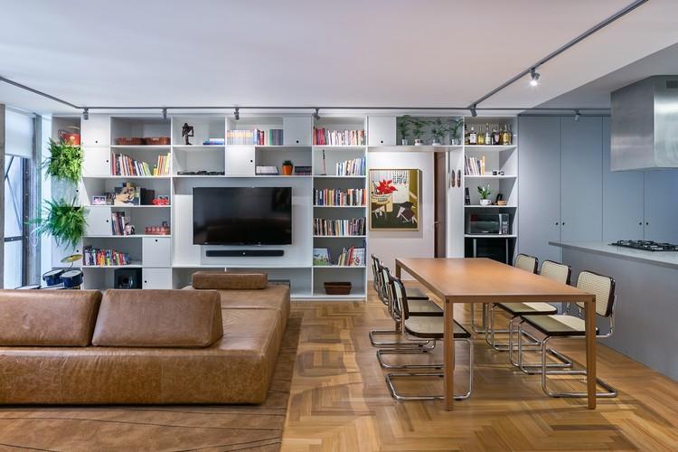 Apartamento 107N / BLOCO Arquitetos, © Haruo Mikami