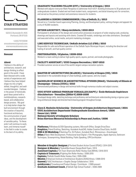 Architecture Design Resumes Architectural Designer Resume Samples