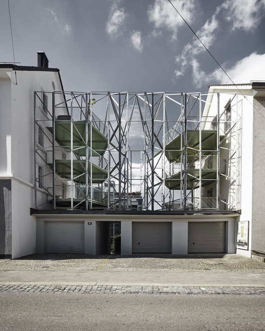 Reconstruction of a Townhouse with new Steel Balconies  / idA, © Valentin Jeck