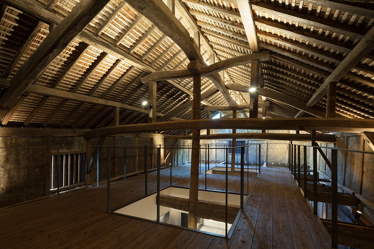 Fábrica de Saquê Fukuchiyo / yHa architects, © Y.Harigane