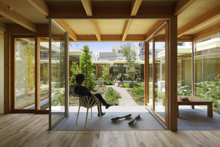 Casa Patio Nagoya / Takeshi Hosaka Architects, © Koji Fujii / Nacasa & Partners Inc.