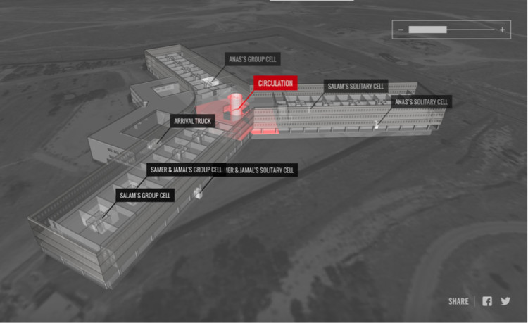 Forensic Architecture Digitally Reconstruct Secret Syrian Torture Prison from the Memories of Survivors, Courtesy of Forensic Architecture