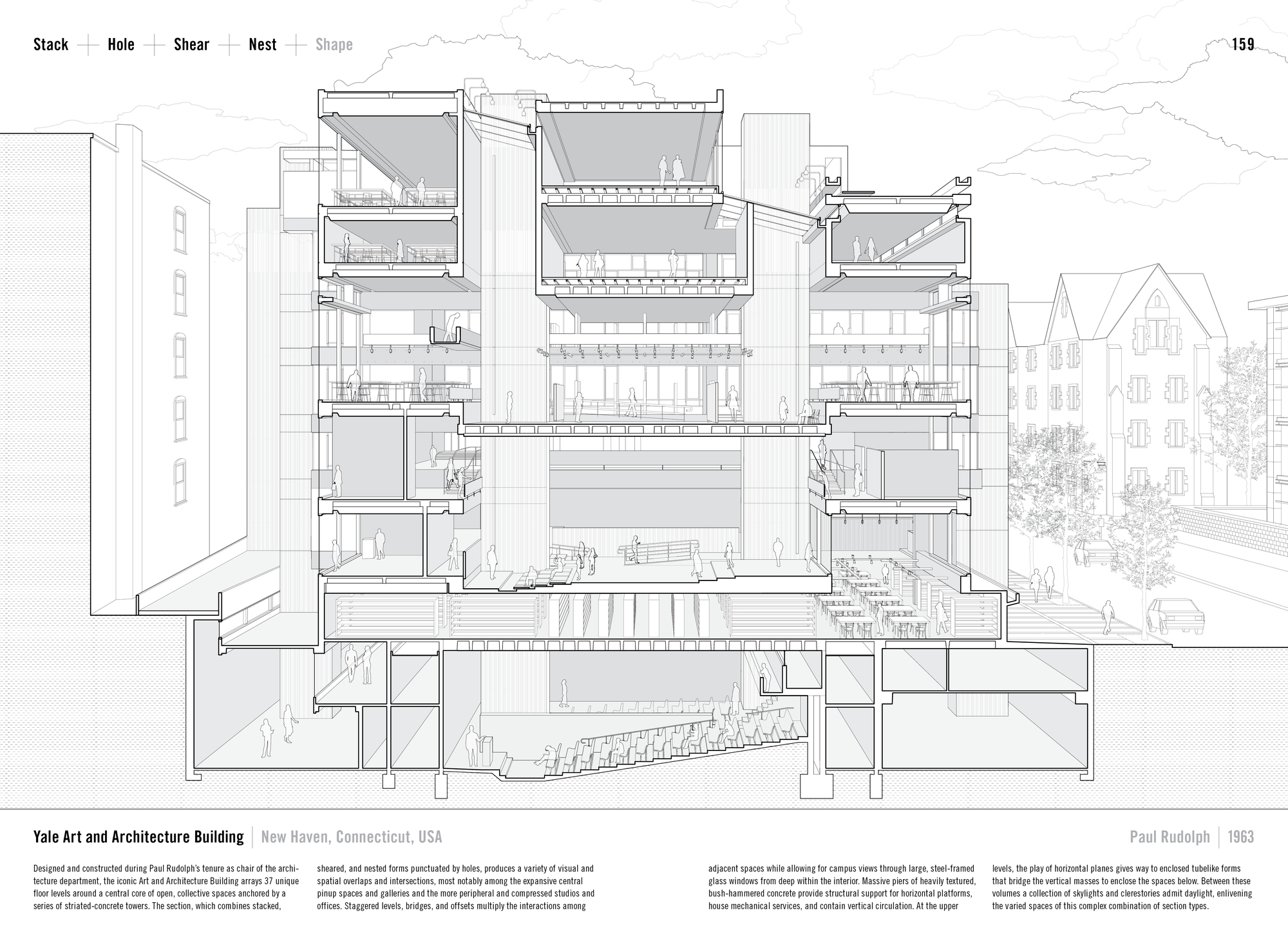 "Architecture Building Drawing gallery of studying the ""manual of section"": architecture's most"