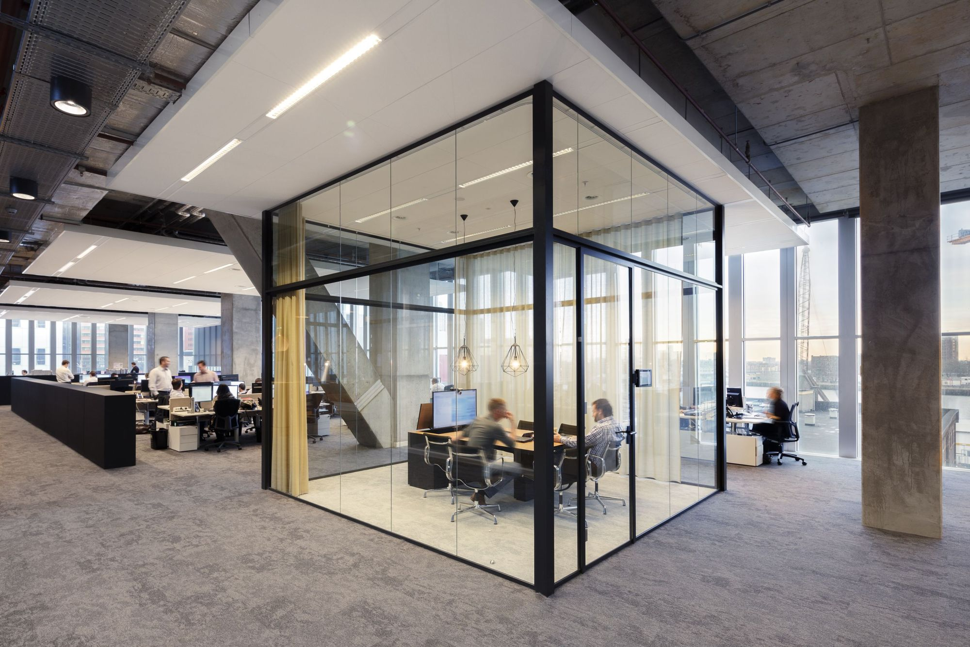 Gallery of nidera trade company fokkema partners 9 for Interior design office rotterdam