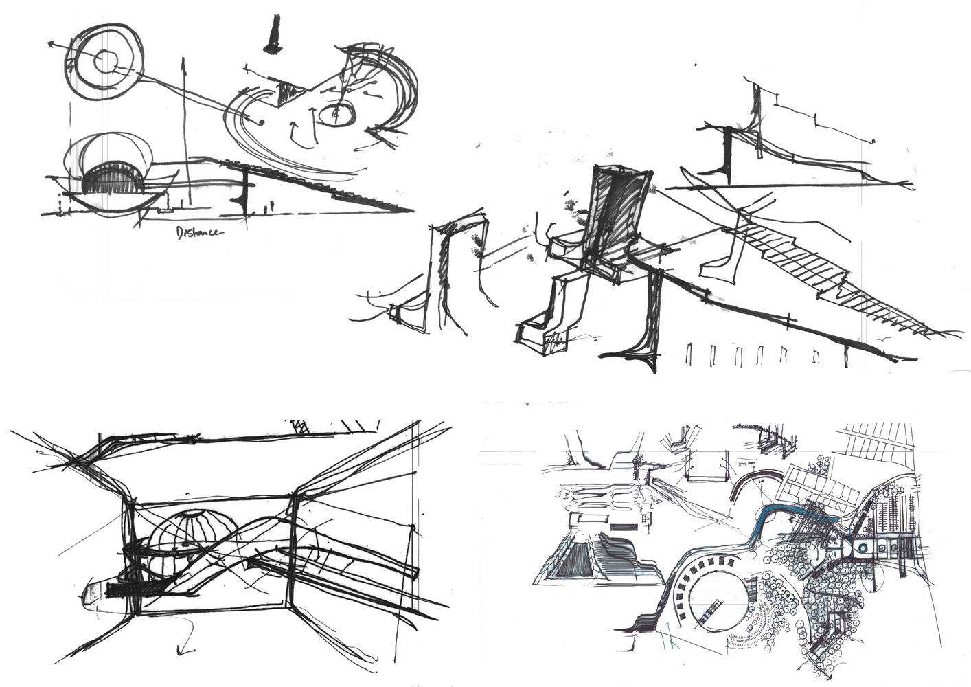 rough architectural sketches. Interesting Rough Sacred Landscapes Or  In Rough Architectural Sketches T