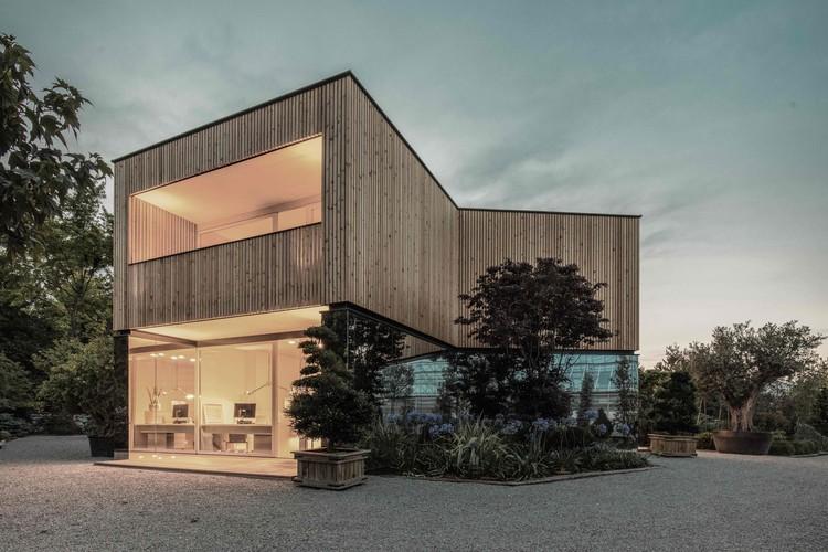 52 Cubic Wood  / JOSEP + Atelier Haumer, © Bernhard Fiedler - JOSEP