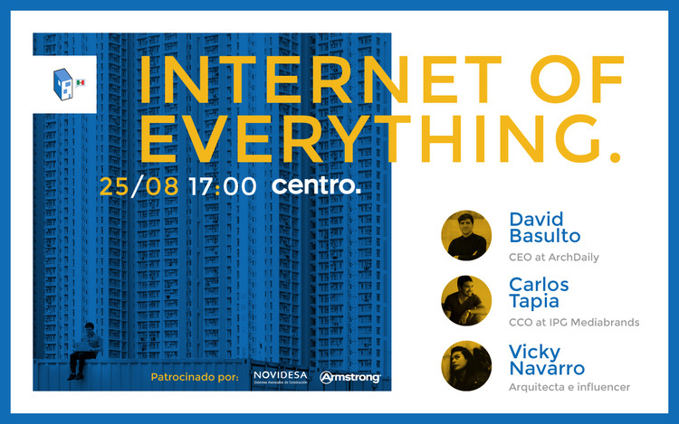 "¡Celebremos juntos nuestro 4to aniversario con las conferencias ""Internet of Everything""!"