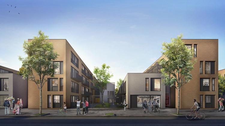 Primer Premio Concurso de anteproyectos para la relocalización de viviendas en el Riachuelo - Barrio Orma / Buenos Aires, vía Maricruz Errasti
