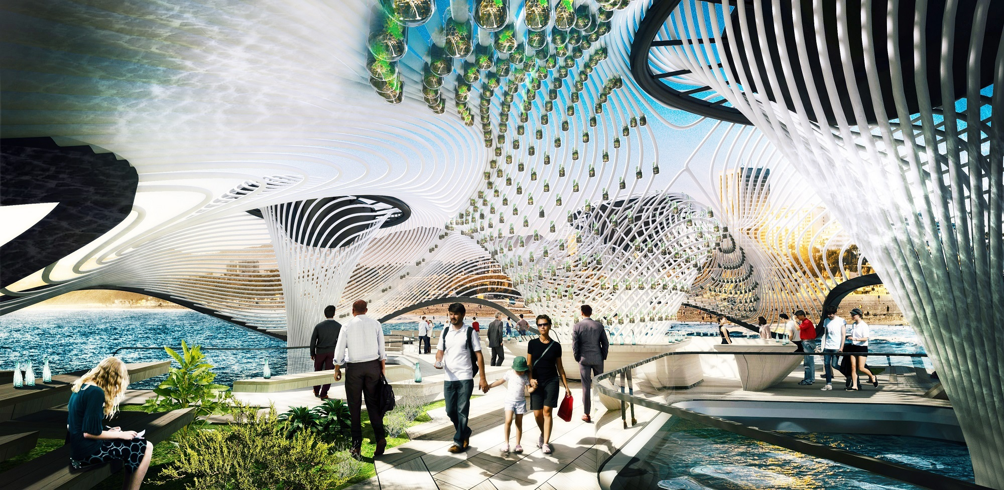 Gallery of This Floating Desalination Megastructure is Designed to