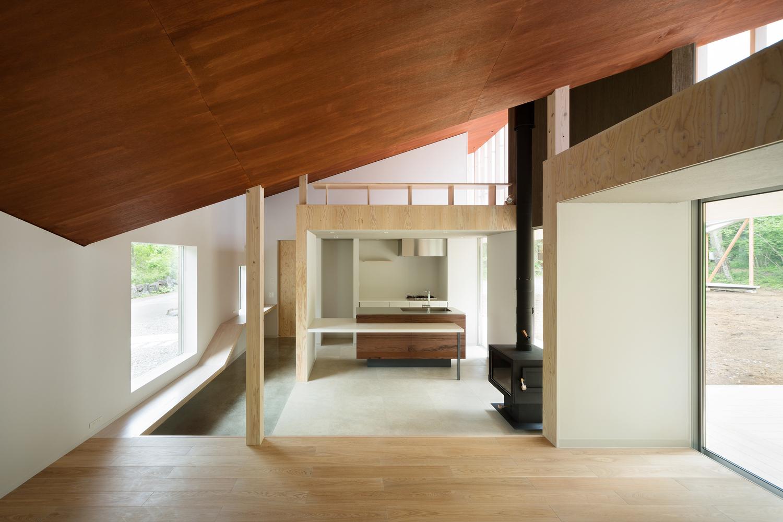 Shed roof house takumi ota