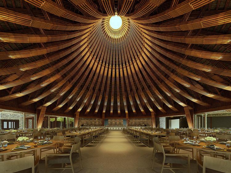 Kim Boi Bamboo Restaurant  / Tran Ba Tiep, © Hoang Le Photography