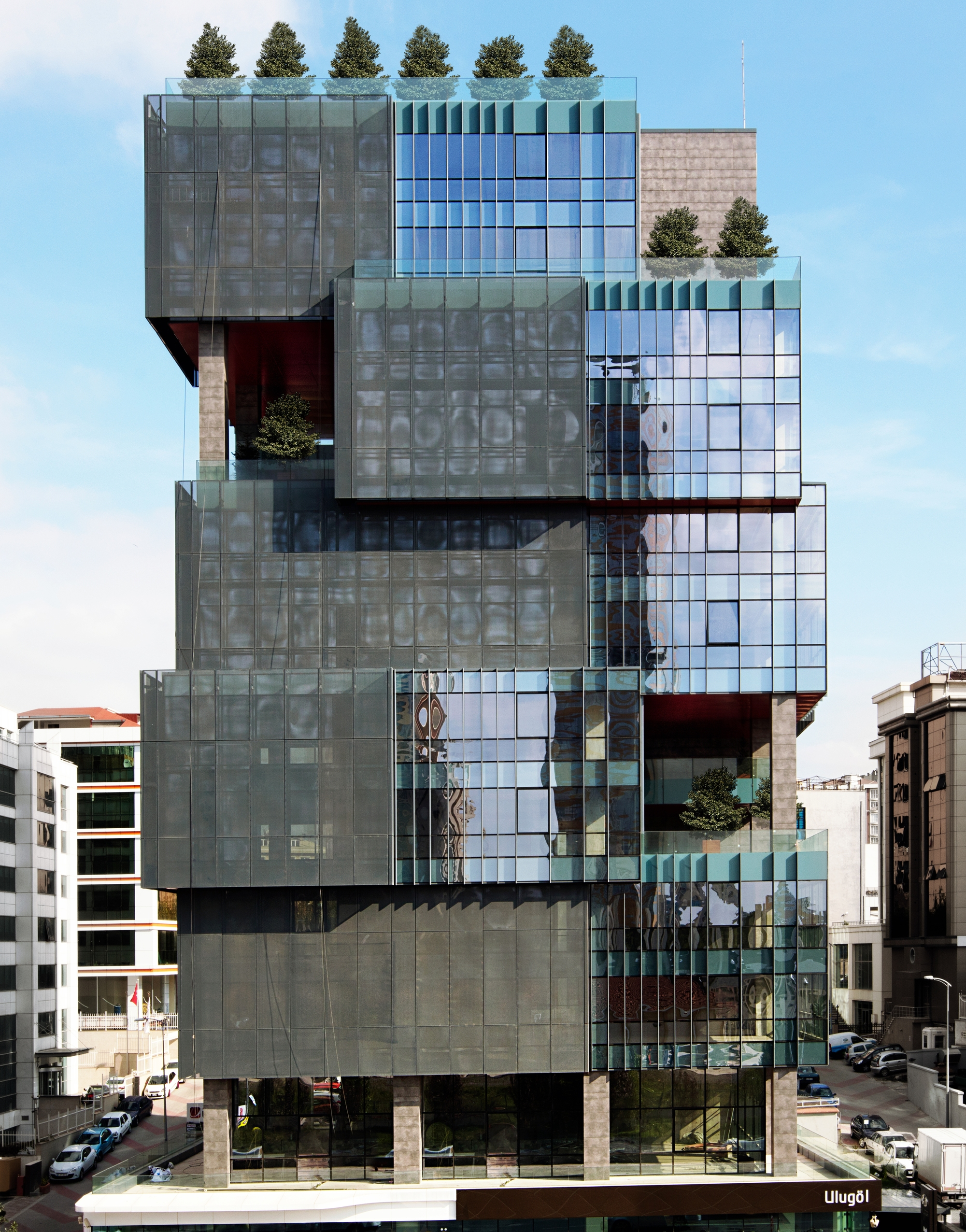 Office Building Architecture the ulugöl otomotiv office building / tago architects | archdaily