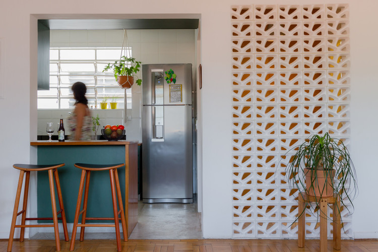 Apartamento Apinajés / Cacho Arquitetura + David Mandil, © Guilherme S. Francisco