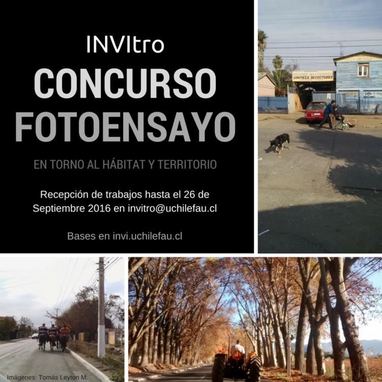 Convocatoria Fotoensayo en torno al Hábitat y Territorio, INVItro