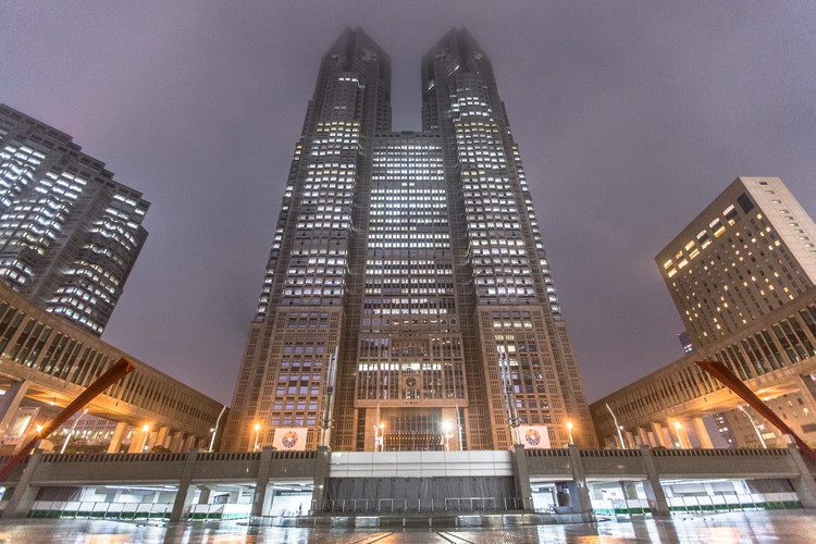 AD Classics: Tokyo Metropolitan Government Building / Kenzō Tange, No.1 Building