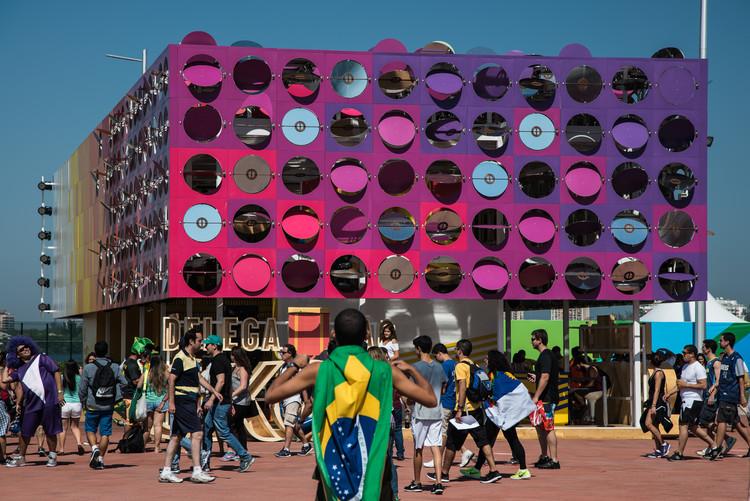 Olimpíadas Rio 2016: The Dancing Pavilion / Estúdio Guto Requena, © Fernanda Ligabue + Rafael Frazão