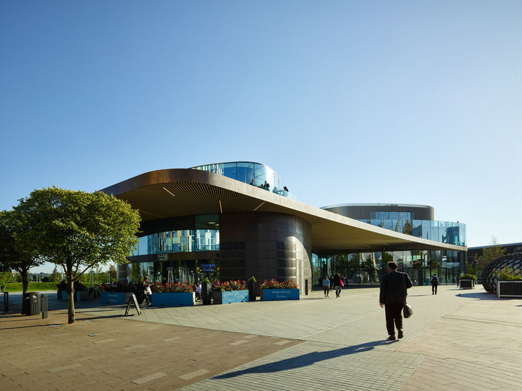 RIBA Great British Buildings Tours: Greenwich Gateway Pavilions, © Timothy Soar