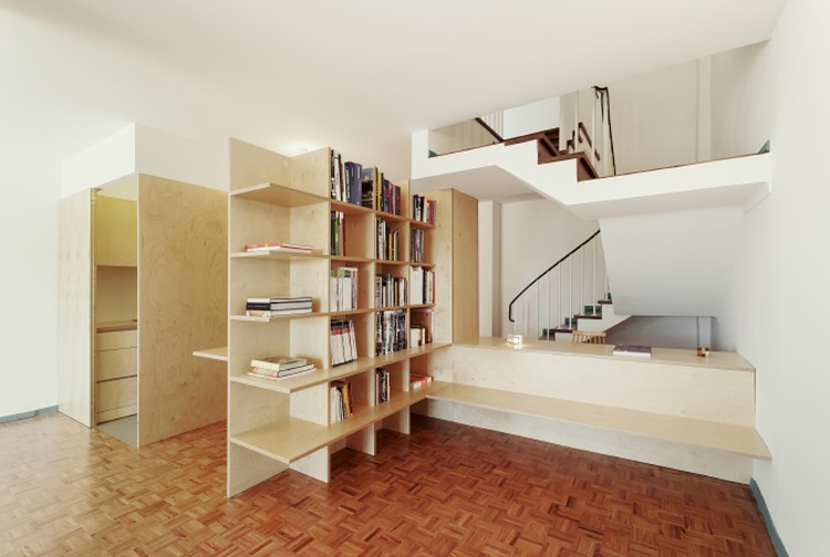 Apartment on Aveiro Street / Branco-delRio Arquitectos, © do mal o menos