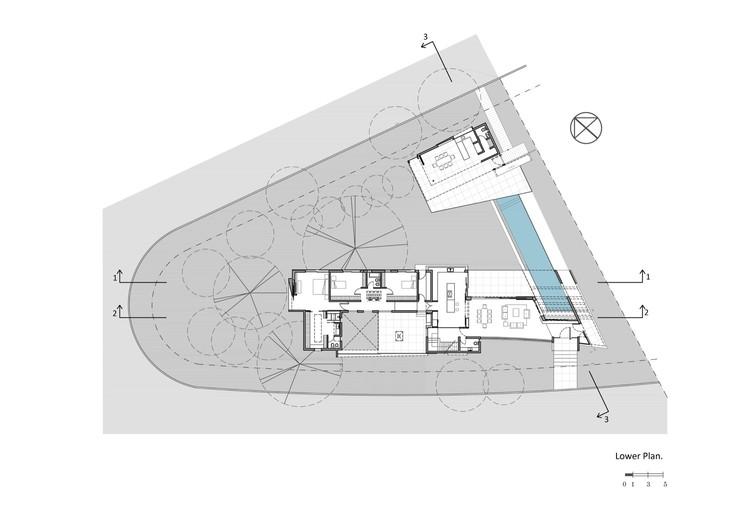 Casa mooe fcp arquitectura archdaily per - Planta baja en ingles ...