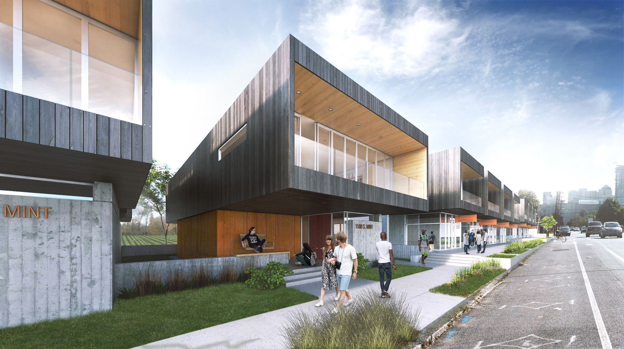 House design competition - Clark Nexsen Wins Activate Urban Housing Design Competition With A Food Centered Vision Courtesy