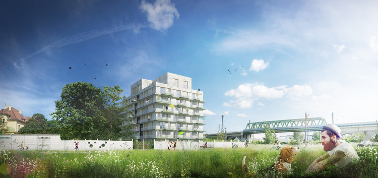 feld72 Wins Competition for Youth Housing in Vienna, © RIVIERA | MORETTI
